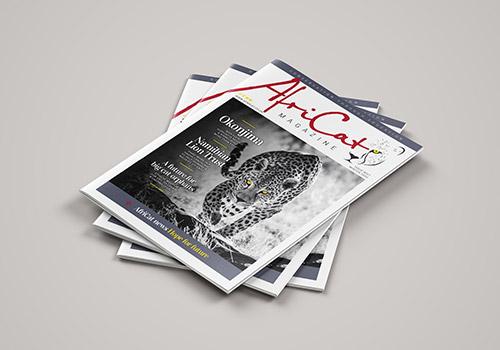 subscribe to the AfriCat UK magazine